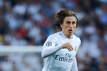 Luka Modric Real Madrid v Manchester City FC - UEFA Champions League Semi Final: Second Leg