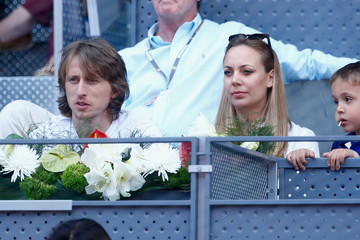 Luka Modric Mutua Madrid Open - Day Seven