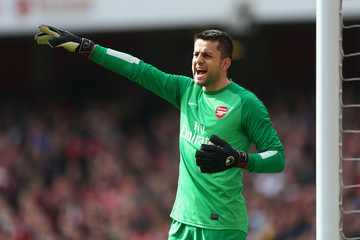 Lukasz Fabianski Arsenal v Everton - FA Cup Quarter-Final