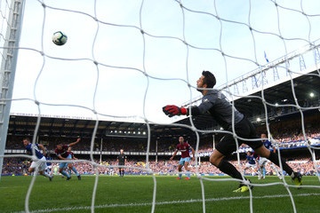 Lukasz Fabianski Everton FC vs. West Ham United - Premier League