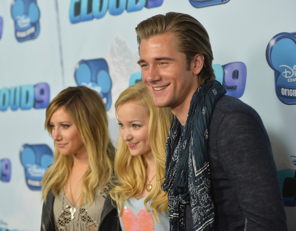 Luke Benward And Dove Cameron Luke benward (l-r) producer