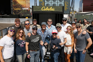 Luke Bryan Dustin Lynch Cabela's and Academy of Country Music Celebrity Archery Tournament at 4th ACM Party for a Cause Festival