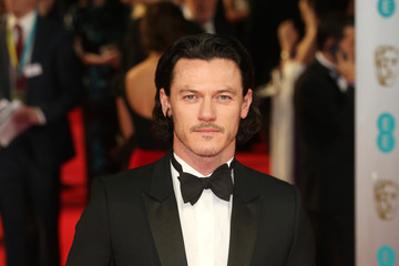 Luke Evans EE British Academy Film Awards 2014 - Red Carpet Arrivals