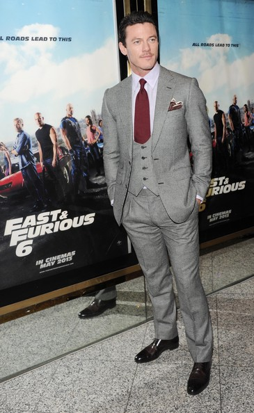 Luke Evans Photos Photos - 'Fast & Furious 6' Premieres in ...