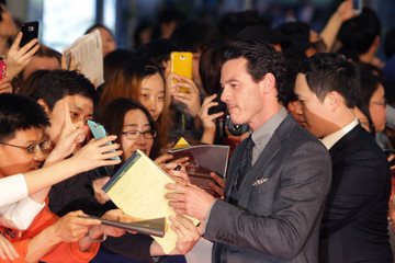 Luke Evans 'Fast & Furious 6' Premieres in South Korea