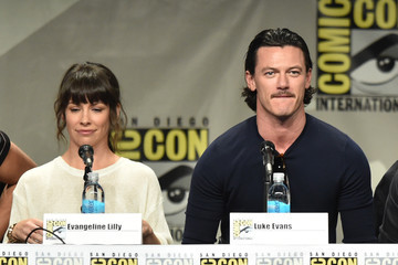 Luke Evans Legendary Pictures Preview And Panel - Comic-Con International 2014