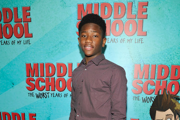 Luke Hardeman Los Angeles Red Carpet Screening of 'Middle School: The Worst Years of My Life'