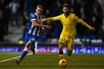 Luke Murphy Brighton and Hove Albion v Leeds United - Sky Bet Championship