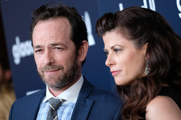 Luke Perry 28th Annual GLAAD Media Awards in LA - Red Carpet & Cocktails