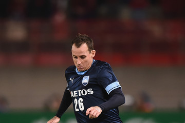 Luke Wilkshire Kashima Antlers Vs. Sydney FC - AFC Champions League Group H