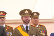 Prince Guillaume of Luxembourg celebrates National Day during the parade on June 23, 2014 in Luxembourg, Luxembourg.