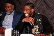 Odis Shumpert and Iman Shumpert attends Luxury Watchmaker Roger Dubuis Hosts NBA All-Star Dinner, Iman Shumpert is wearing Excalibur 42 automatic Skeleton at STK Chicago on February 14, 2020 in Chicago, Illinois.