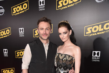 Lydia Hearst Chris Hardwick Stars And Filmmakers Attend The World Premiere Of 'Solo: A Star Wars Story' In Hollywood