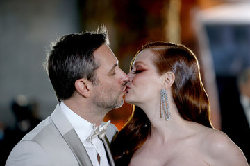 Lydia Hearst Chris Hardwick The Academy Museum Of Motion Pictures Opening Gala - Arrivals