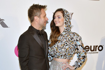 Lydia Hearst Chris Hardwick 27th Annual Elton John AIDS Foundation Academy Awards Viewing Party Celebrating EJAF And The 91st Academy Awards - Arrivals