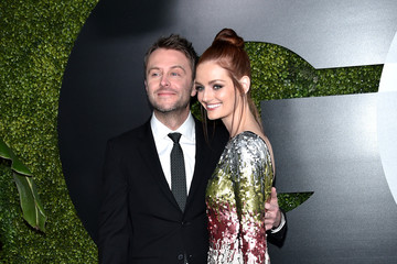 Lydia Hearst Chris Hardwick GQ 20th Anniversary Men of the Year Party - Arrivals