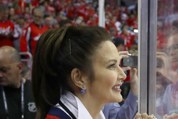 Lynda Carter 2018 NHL Stanley Cup Final - Game Four