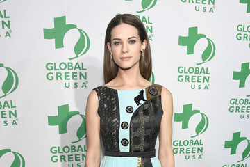 Lyndsy Fonseca 14th Annual Global Green Pre Oscar Party