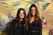 Sea Louise Bensimon (L) and Kelly Bensimon attend the MAC x Guo Pei dinner on May 5, 2015 in New York City.