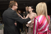 Joachim Ronning, Lydia Hearst and Amanda Hearst attend MAISON-DE-MODE.COM Sustainable Style Gala  at Sunset Tower on February 23, 2019 in Los Angeles, California.