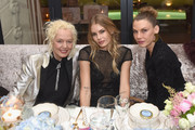 Ellen von Unwerth,  Tori Praver and Angela Lindvall attend MAISON-DE-MODE.COM Sustainable Style Gala at Sunset Tower on February 23, 2019 in Los Angeles, California.