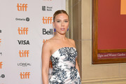Scarlett Johansson attends the 'MARRIAGE STORY' Special Presentation and Canadian Premiere at the Elgin and Winter Garden Theatre on September 08, 2019 in Toronto, Canada.