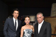 Adam Driver, Scarlett Johansson and Ray Liotta attend the 'MARRIAGE STORY' Special Presentation and Canadian Premiere at the Elgin and Winter Garden Theatre on September 08, 2019 in Toronto, Canada.