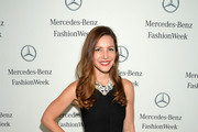 Julia Allison attends the Mercedes-Benz Star Lounge during Mercedes-Benz Fashion Week Spring 2014 on September 9, 2013 in New York City.