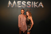 Jasmine Tookes and Valerie Messika attend the MESSIKA Party, NYC Fashion Week Spring/Summer 2019 Launch Of The Messika By Gigi Hadid New Collection at Milk Studios on September 12, 2018 in New York City.