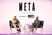 DJ Khaled and journalist Jeff Johnson attends META Convened by BET at Milk Studios on June 20, 2019 in Los Angeles, California.