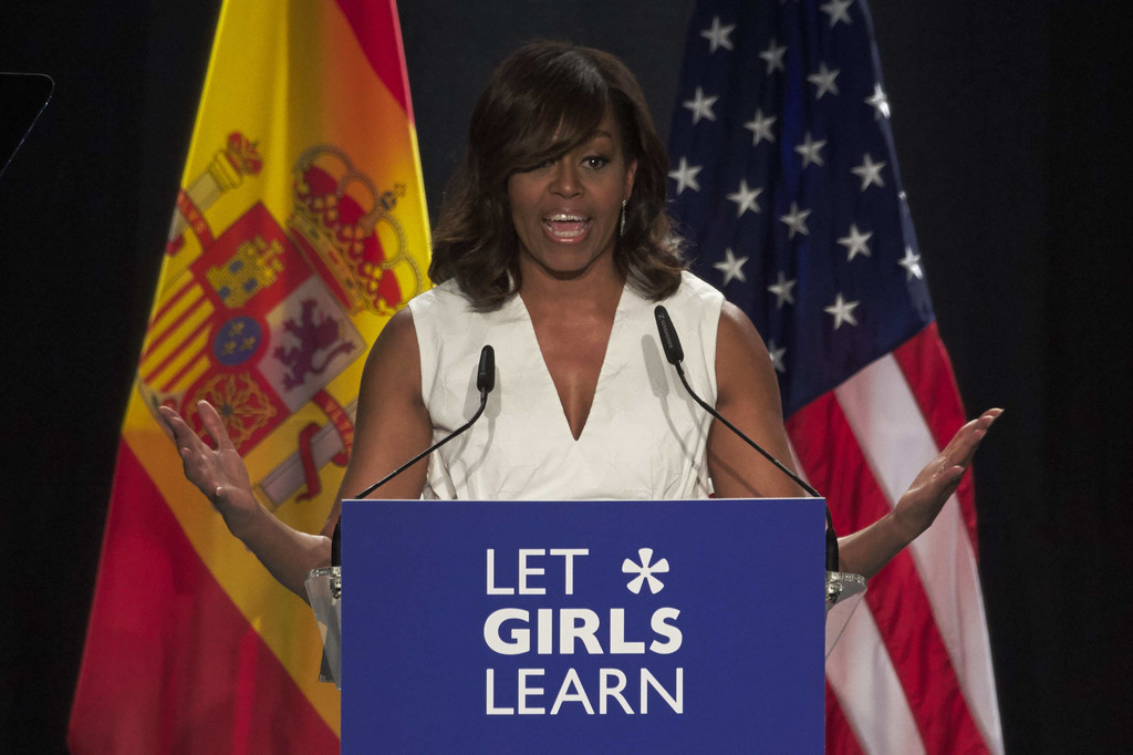 first lady michelle obama launches let Michelle obama's melania trump diss shows just how bitter first lady michelle obama and former first lady laura bush at a panel discussion at american university.
