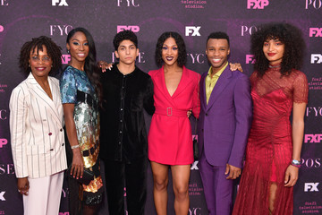 MJ Rodriguez Angelica Ross Red Carpet Event For FX's 'Pose' - Arrivals