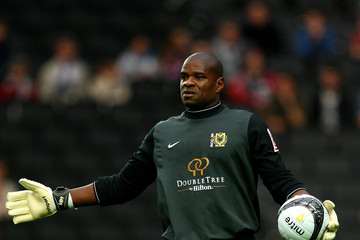Willy Gueret MK Dons v Wolverhampton Wanderers - Pre Season Friendly