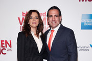 Singer-songwriter Martina McBride (L) and Senior Vice President of Digital Content at Billboard, Mike Bruno attend the Billboard Women in Music Luncheon on December 11, 2015 in New York City.