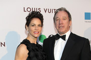 Actors Jane Hajduk and Tim Allen attend MOCA's 35th Anniversary Gala presented by Louis Vuitton at The Geffen Contemporary at MOCA on March 29, 2014 in Los Angeles, California.