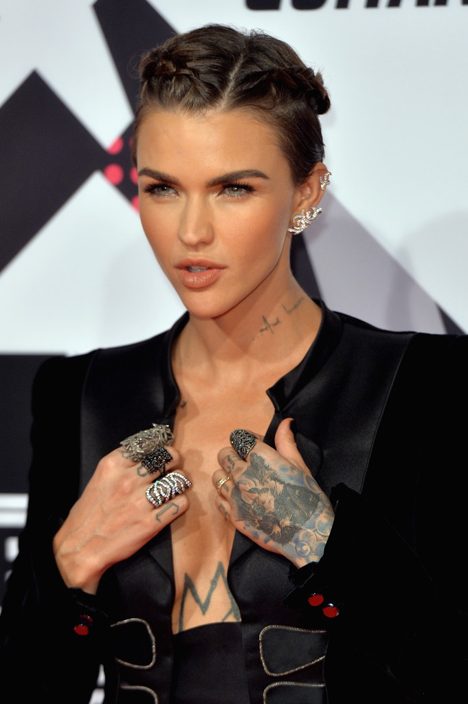 Ruby Rose Ruby Rose Photos Mtv Ema S 2015 Red Carpet