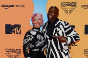 Rebecca King-Crews and Terry Crews attend the MTV EMAs 2019 at FIBES Conference and Exhibition Centre on November 03, 2019 in Seville, Spain.
