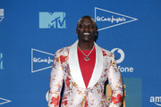 Akon poses in the winners room during the MTV EMAs 2019 at FIBES Conference and Exhibition Centre on November 03, 2019 in Seville, Spain.