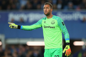 Maarten Stekelenburg Everton vs. Rotherham United - Carabao Cup Second Round