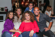 Actors, Eva Longoria, Alex Meneses, Jose Moreno Brooks, Diana Maria Riva and Amaury Nolasco attend an event hosted by The Macallan for the cast of NBC's Telenovela to celebrate their Season 1 finale on February 22, 2016 in Los Angeles, California.