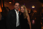 Charles Esten and Patty Hanson attend the Big Machine Label Group's celebration of the 50th Annual CMA Awards at Marathon Music Works on November 2, 2016 in Nashville, Tennessee.