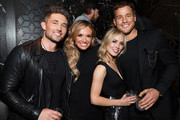 (L-R) Michael Ray, Carly Pearce, Cassie Randolph, and Colton Underwood are seen as Big Machine Label Group Celebrates the 54th Annual ACM Awards at Hakkasan Las Vegas Restaurant and Nightclub on April 07, 2019 in Las Vegas, Nevada.