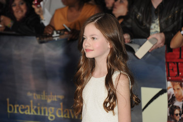 Mackenzie Foy The Red Carpet at the 'Breaking Dawn' Premiere