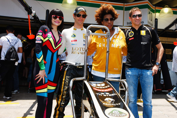 F1 Rocks in Sao Paulo - Jessie J and Macy Gray Visit To Formula One Paddock