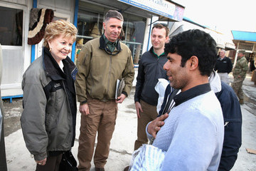 Madeleine Z. Bordallo US Congressional Delegation Visits Kabul