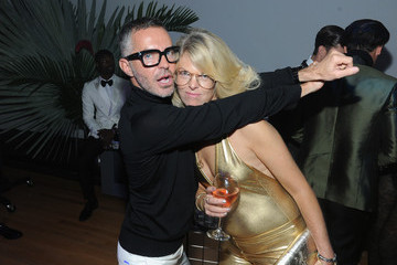 Madeline Weeks Dean and Dan Caten Celebrate Their One Year U.S. Retail Anniversary with a Private Party at the Halston House