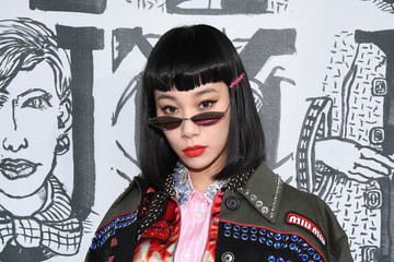 Mademoiselle Yulia Miu Miu: Photocall - Paris Fashion Week Womenswear Fall/Winter 2018/2019
