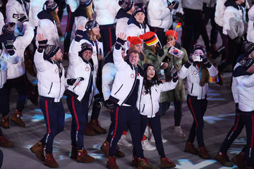 Madison Chock 2018 Winter Olympic Games - Closing Ceremony