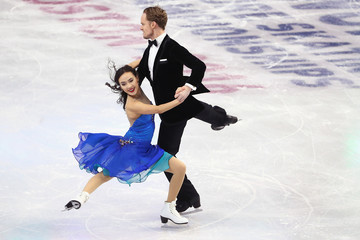 Madison Chock ISU World Figure Skating Championships 2016 - Day 3