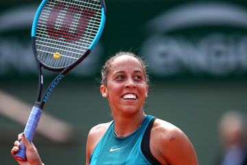Madison Keys 2018 French Open - Day Eight